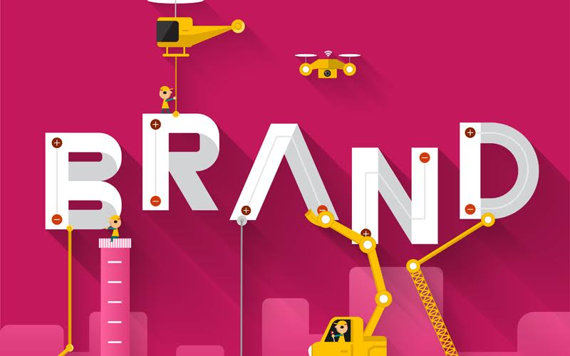 Engineering building text Brand. Vector Illustrate